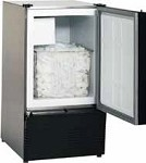 SS98-20 Uline - Marine/RV Crescent Ice Maker, 220V. 25 lb. Daily Production