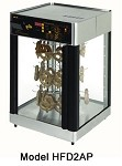 HFD2AP Star Mfg. - Humidified Countertop Display Cabinet, Pretzel Holder