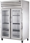 STG2RVLD-2G True -  2 Section Reach-in Refrigerator w/2 Locking Glass Doors