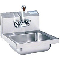 T148 Polar Ware - Value Series Wall-Mount Hand Sink. This economical yet attractiv