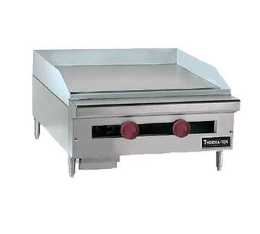 "TC36-36G Therma-Tek Range  - Griddle, Gas, countertop, 36"" wide, 3/4"" thick polished steel pl"