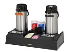 1023361 Tomlinson Industries - Coffee Airpot Station. This airpot station holds two airpots. Be