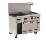 48S-4B24G Vulcan - Endurance 4 Burner Restaurant Range w/24 in. Griddle & Standard Oven, 48 in.