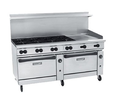 Countertop Convection Oven With Burners : ... 72CC-6B36GT - Endurance 72 in. Range w/6 Burners & 2 Convection Ovens