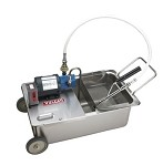 MF Vulcan - Fryer Filter, Mobile, Electric, 1/3 HP pump motor, 8 gallon/minu