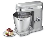 WSM7Q Waring - Stand Mixer, 7 qt. capacity, 12 mixing speeds, full die cast hou