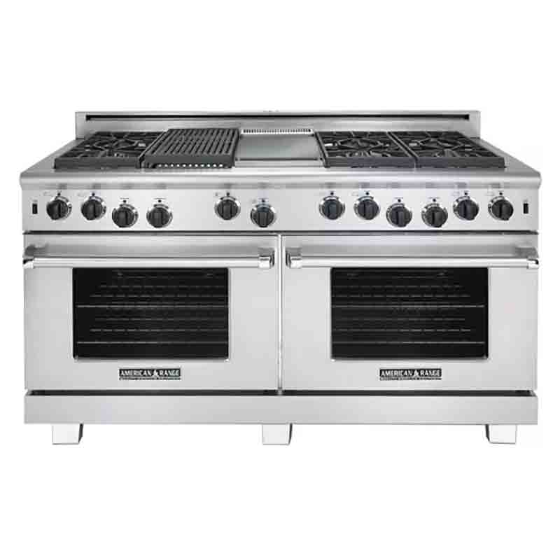 American Range Arr 660gdgr Cuisine Series 60 Lp With Griddle Grill