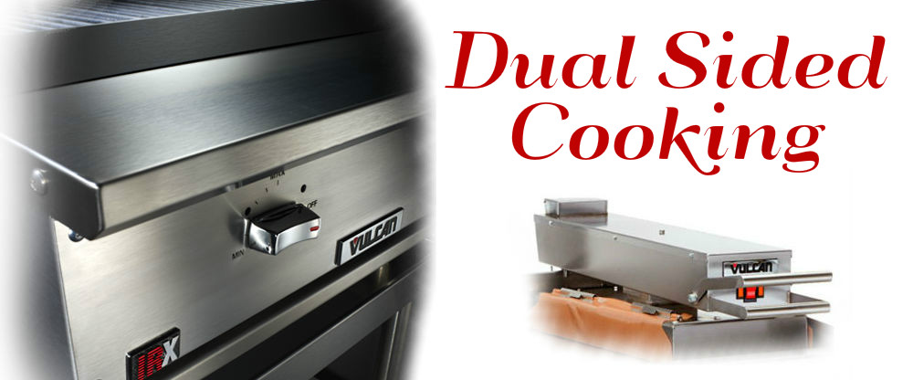 dual sided cooking