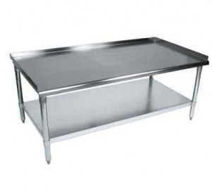 All About Stainless Steel Work Tables Equipment Stands - Food grade stainless steel table