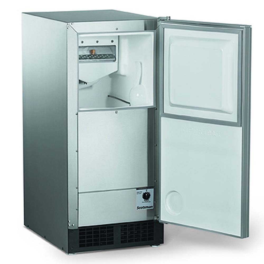 Scotsman Automatic Ice Machine W/Gravity Drain   Stainless Steel    DCE33A 1SSD