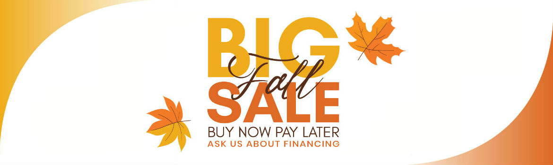 big fall sale!