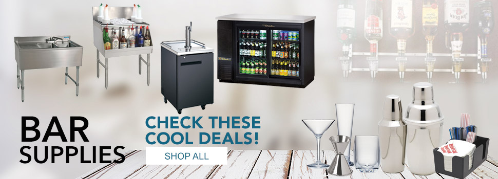 Shop for Bar Supplies and Equipment