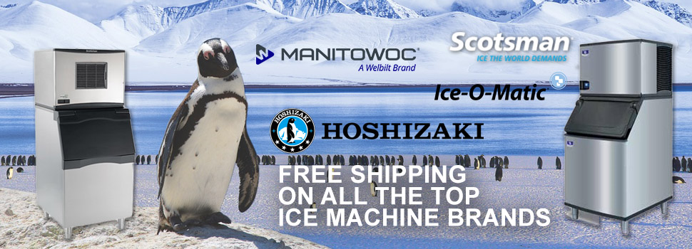 Free Shipping on Commercial Ice Machines