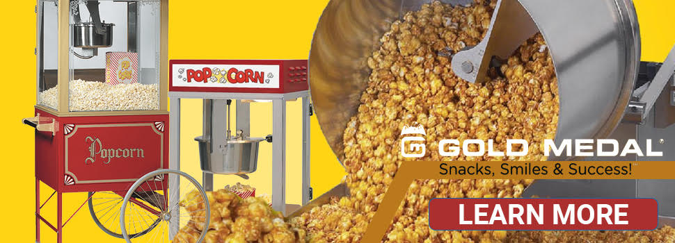 Gold Medal Popcorn Poppers - Shop Now
