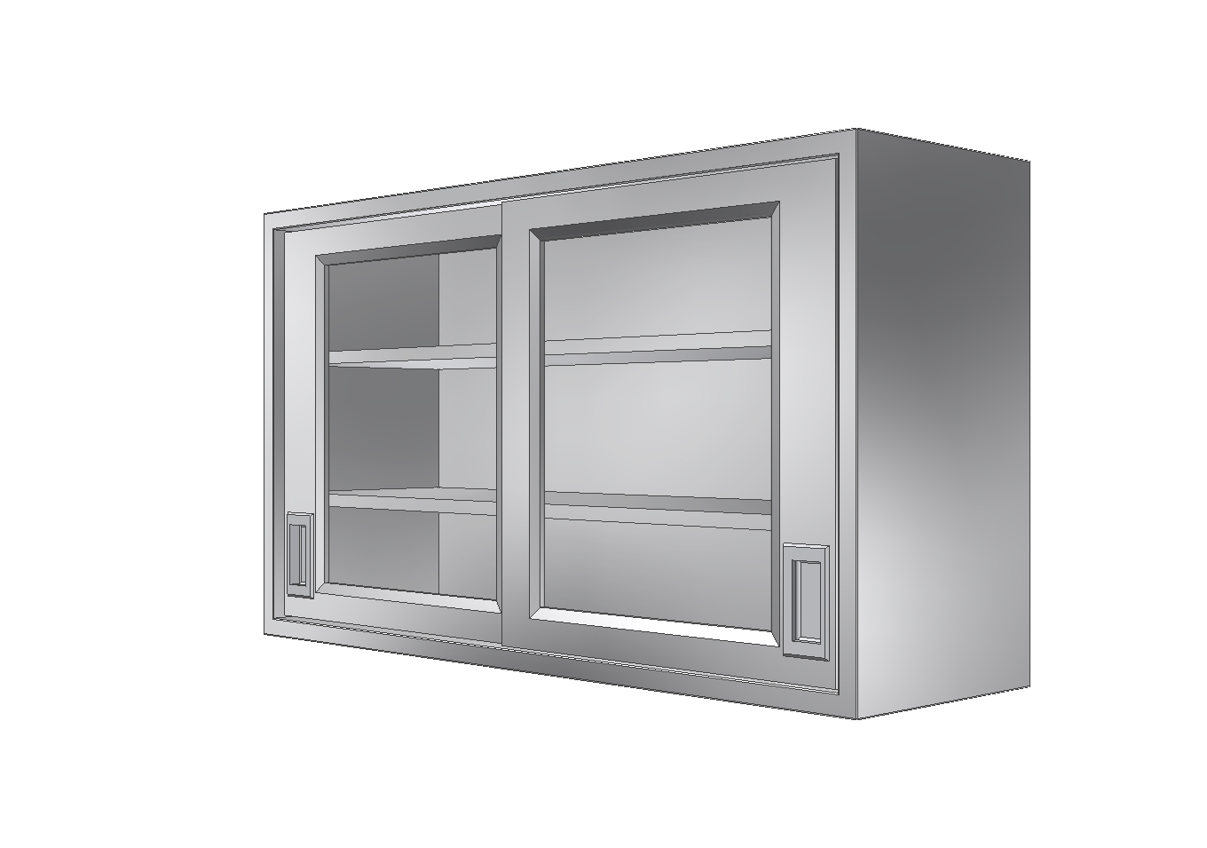 Stainless Case and Cabinets