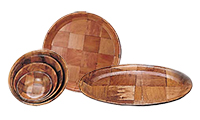 Wood Dinnerware