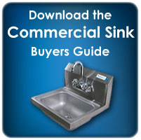 Get your free commercial sink buying guide