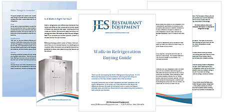 Walk-In Refrigeration buying guide.