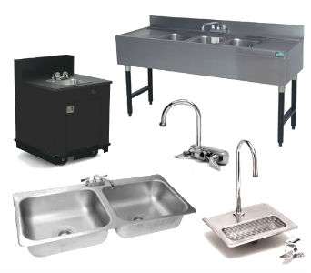 Used Sink and Plumbing