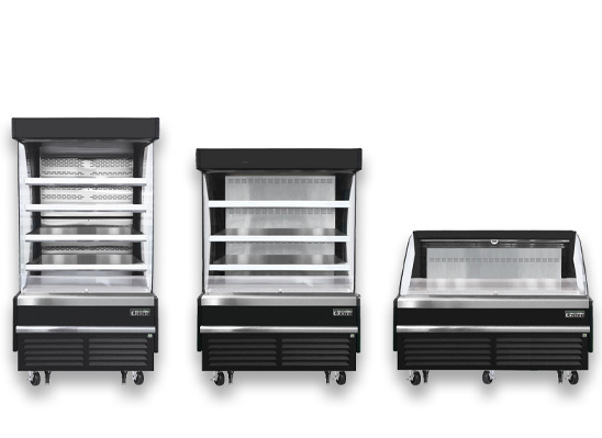 Everest Refrigeration open air merchandisers for sale