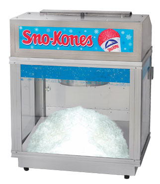 snow cone ice machines