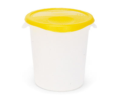 fg572700wht rubbermaid storage container round 18qt