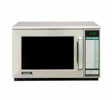 Sharp R 25jtf Microwave Oven 2100 Watts Heavy Duty Commercial