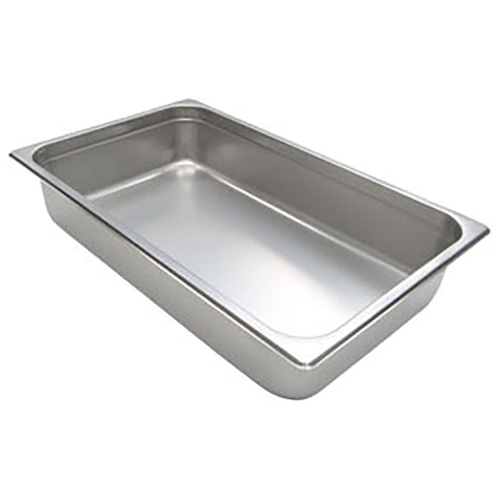 200f4 admiral craft stainless steel steam table pans rh jesrestaurantequipment com steam table pan capacity chart steam table pan rack