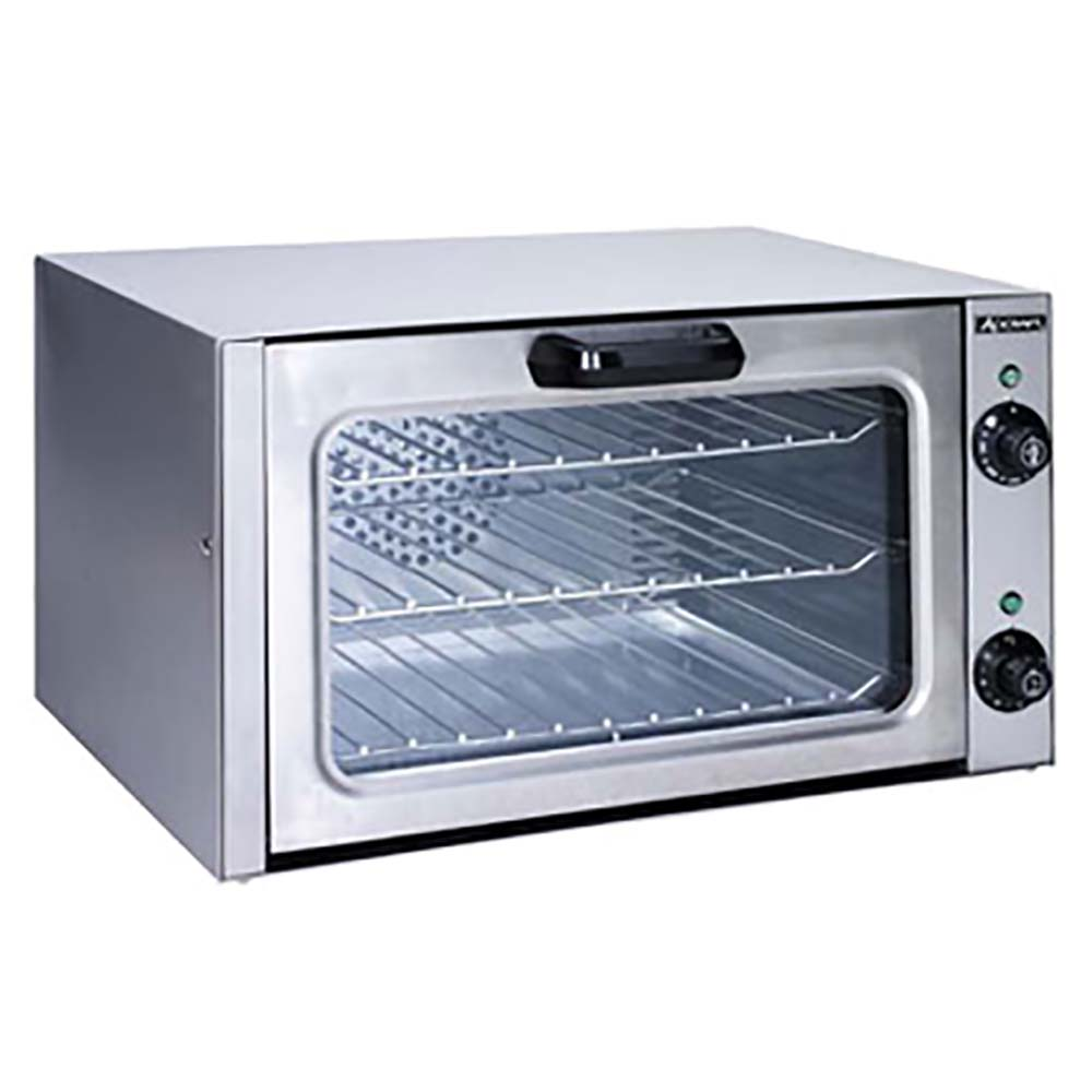 Adcraft Coq 1750w Convection Oven Quarter Size Countertop Electric