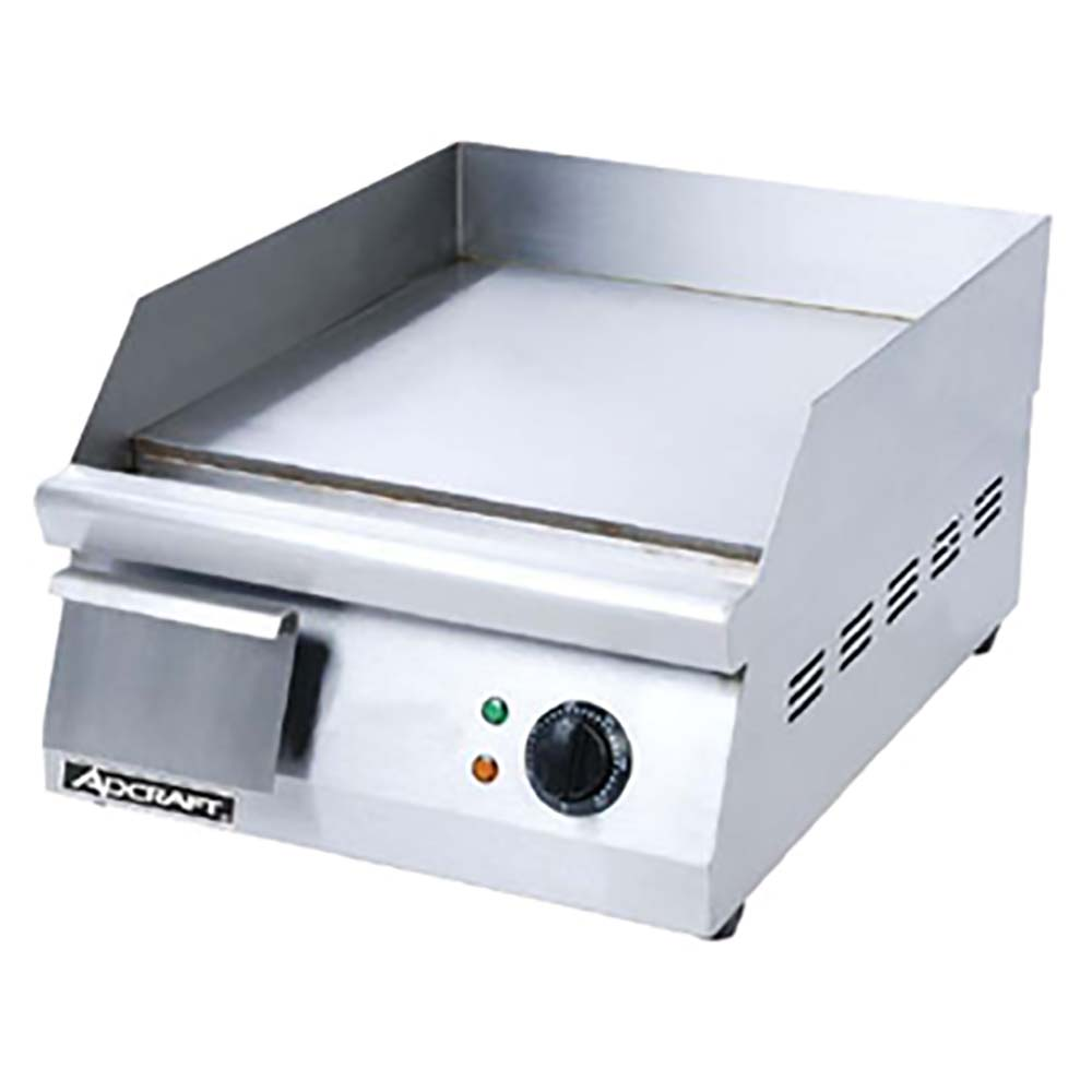 Adcraft Grid 16 Griddle Countertop Electric 15 1 2