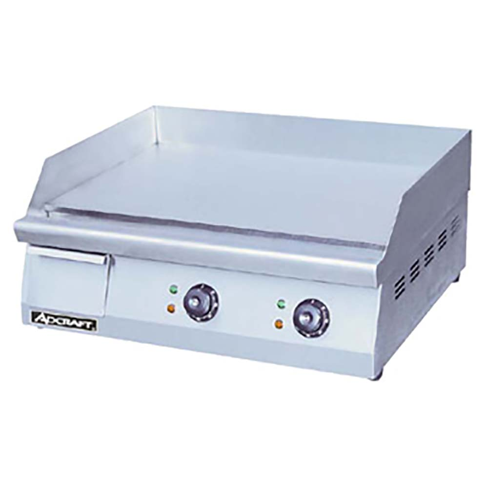 Adcraft Grid 24 Griddle Countertop Electric 15 1 2