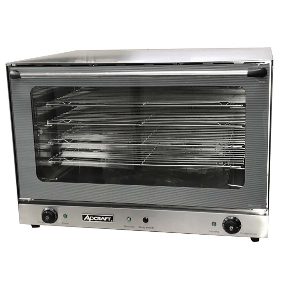 Adcraft Cof 6400w Countertop Convection Oven Electric Full Size Wiring Diagram 1 Hinged Glass Door