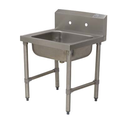Exceptional Advance Tabco 8 OP 16   Service Sink, 1 Compartment, 24