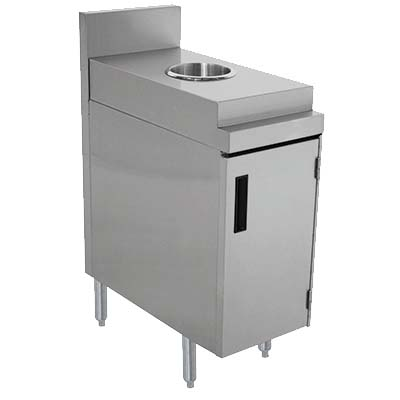 Advance Tabco PRSJT-12-DR - Prestige Trash Receptacle Cabinet with Door 12