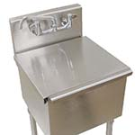 Advance Tabco LSC-24 - Stainless steel sink cover