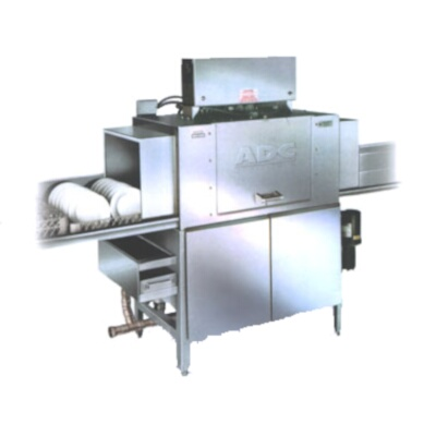 American dish adc 44 low r l conveyor dishwasher 244 rackshr publicscrutiny Images