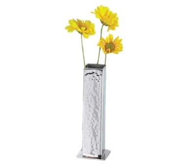 American Metalcraft Hmbv1 Ss Bud Vase 1 34in Square X 5in H