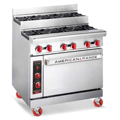 AR-6-SU American Range - Heavy Duty Restaurant Range, gas, 36\