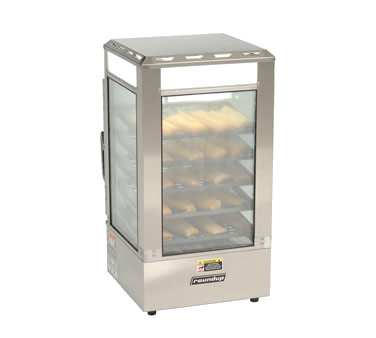SDC-500 Roundup - Steamer Display Cabinet, steams pre-cooked food, (5)
