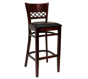 561 BS W SWS ATS Furniture Bar Stool back wcriss cross  : ATS561 BS DM from www.jesrestaurantequipment.com size 1000 x 1000 jpeg 58kB