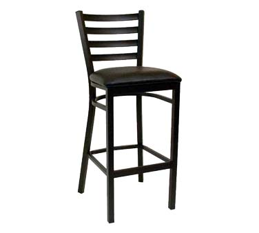 Ats Furniture 77 Bs Sws Bar Stool Ladder Back Wood