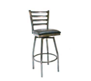 ATS Furniture 77C BSS BVS Swivel Bar Stool ladder back  : ATS77CBSS from www.jesrestaurantequipment.com size 1000 x 1000 jpeg 48kB
