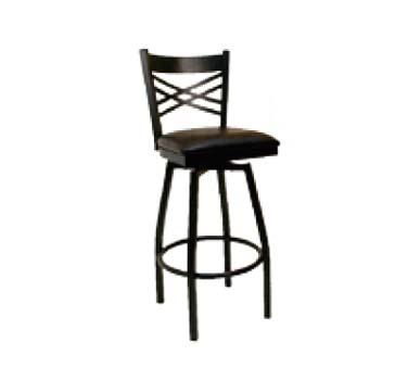 ATS Furniture 78 BSS GR4 Swivel Bar Stool criss cross  : ATS78BSS from www.jesrestaurantequipment.com size 1000 x 1000 jpeg 49kB