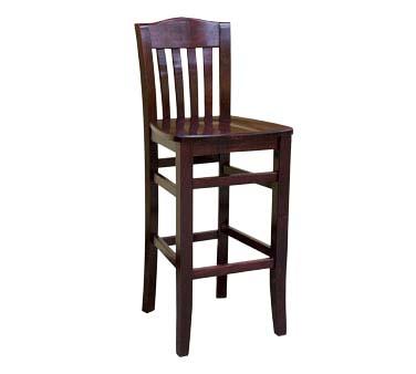 830 Bs B Sws Ats Furniture Bar Stool Slat Back Wood