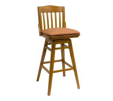 930 BSS C GR4 ATS Furniture Swivel Bar Stool slat back  : ATS930BSSC from www.jesrestaurantequipment.com size 1000 x 1000 jpeg 58kB