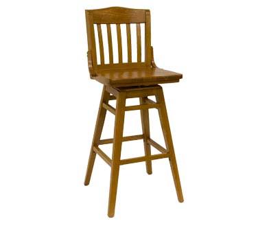 930 Bss C Sws Ats Furniture Swivel Bar Stool Slat Back