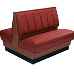 ATS Furniture AD48-66W GR6 - Alex Double Booth