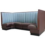 ATS Furniture AS-4812-12 GR6 - Corner Booth