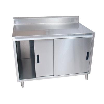 BK Resources BKDCR5 2460S   Work Table, Sliding Door Cabinet Base, 60 Inch