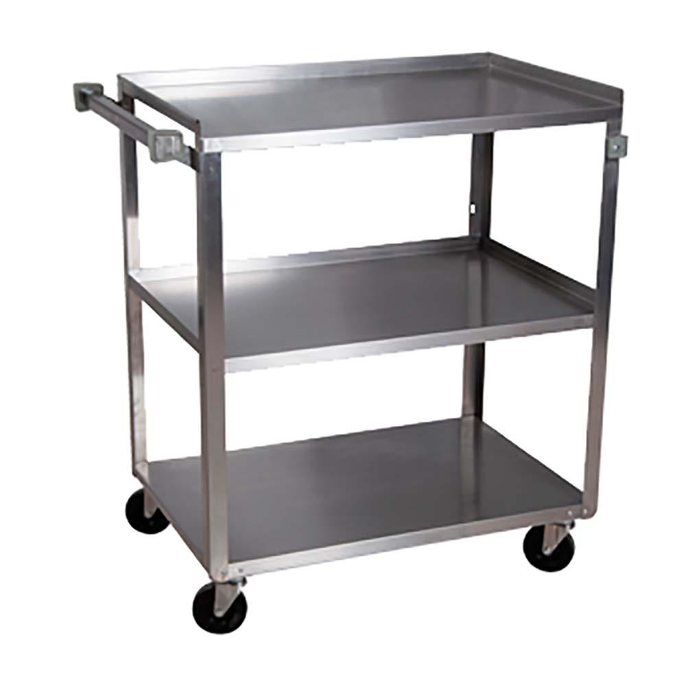3 tier utility cart diaper storage bk resources bkc1827s3s tier utility cart 18 27 in